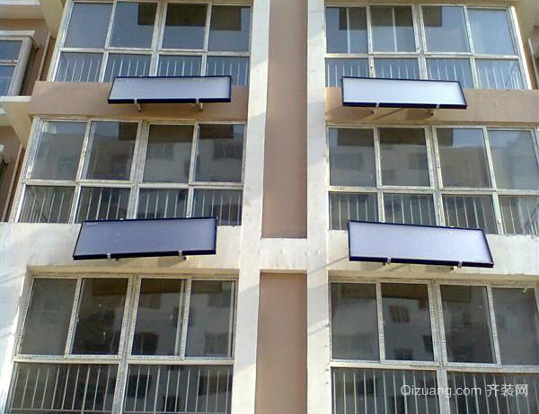 阳台壁挂太阳能安装注意事项