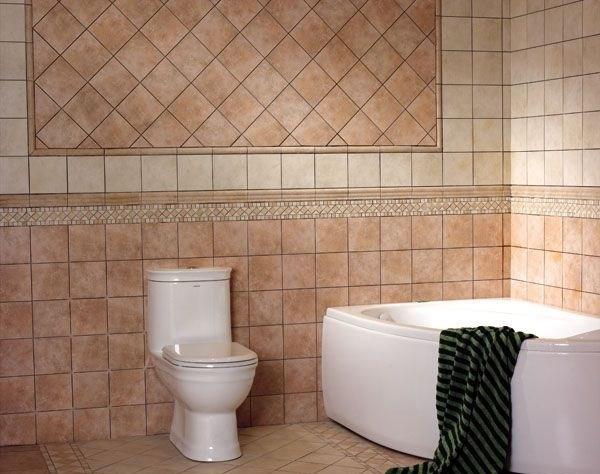 卫生间仿古砖装修