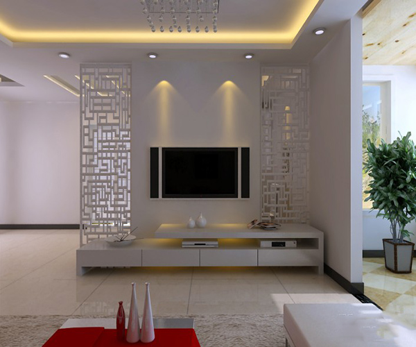 电视背景墙设计材料