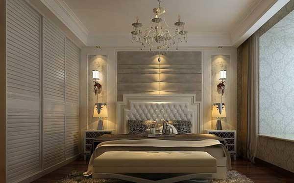 床头壁灯效实图