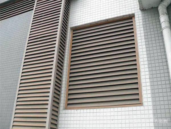 锌钢百叶窗安装注意事项
