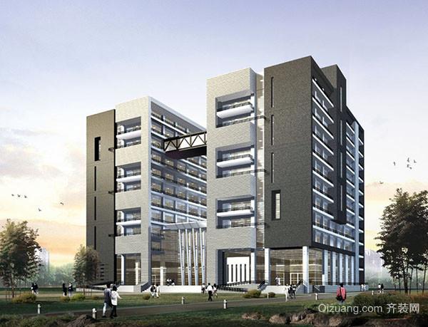 建筑物造型框架结构