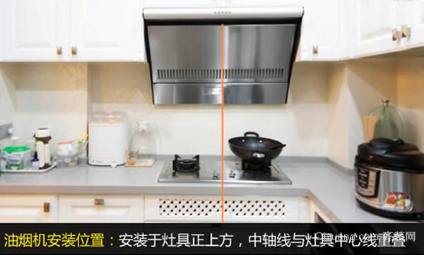 抽油烟机安装步骤2