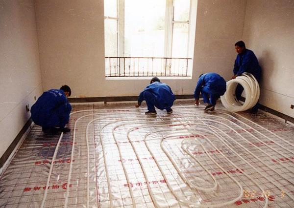 地暖安装施工流程