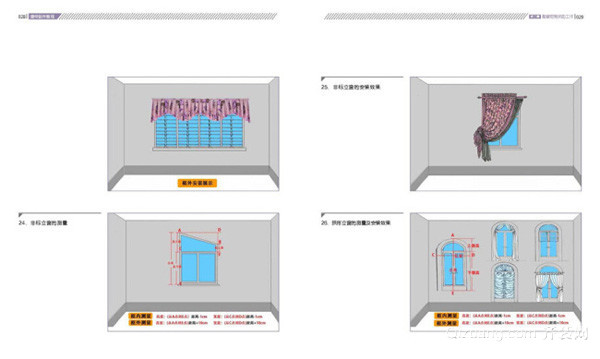 窗帘制作教程