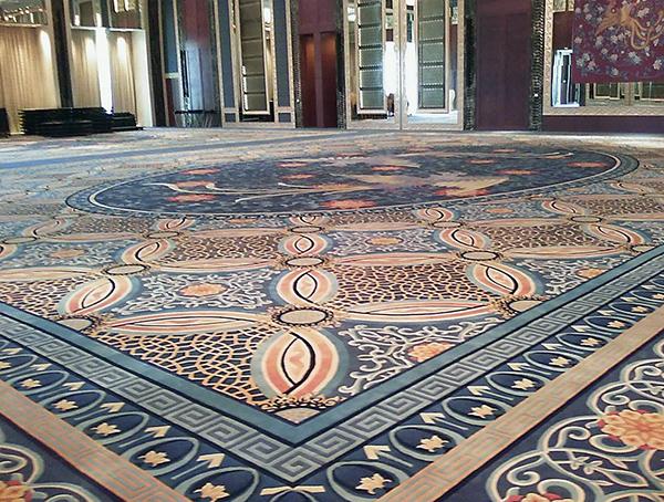 青岛办公室装修地毯种类选择