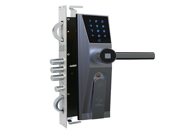 防盗门锁安装步骤