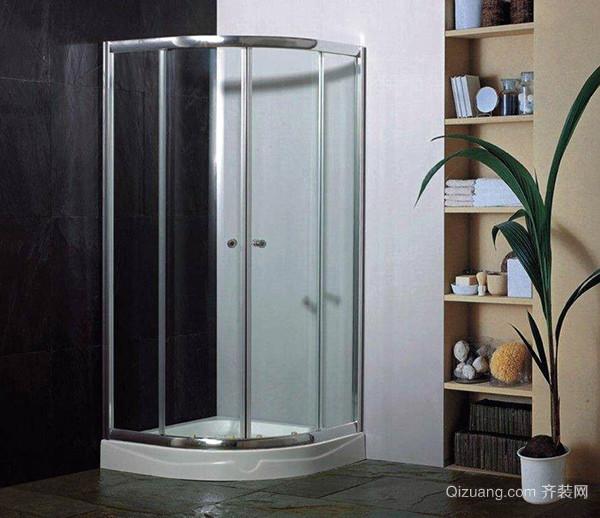 半圆形淋浴房怎么安装