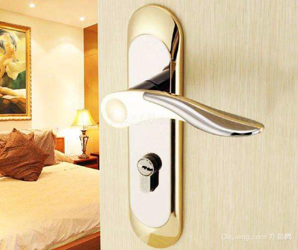 室内门锁怎么拆卸