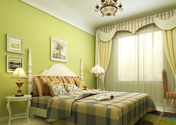 床头壁灯装置完成图