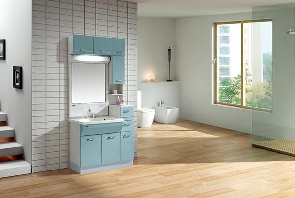 卫浴间浴室柜安装合理 提高品质生活