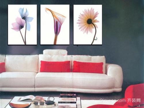 室内墙体手绘装饰画效果图欣赏