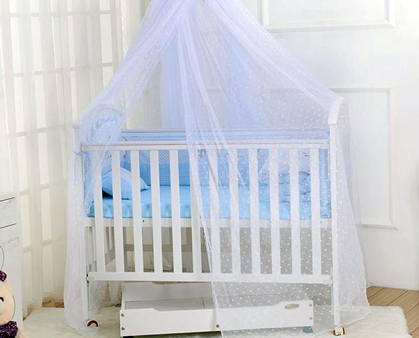 婴儿床蚊帐