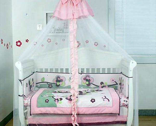 婴儿床蚊帐种类