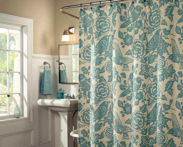 浴帘选购四要点 为浴室添一点色彩