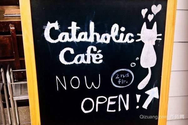 Kitty主题餐厅装修设计 萌化你的心