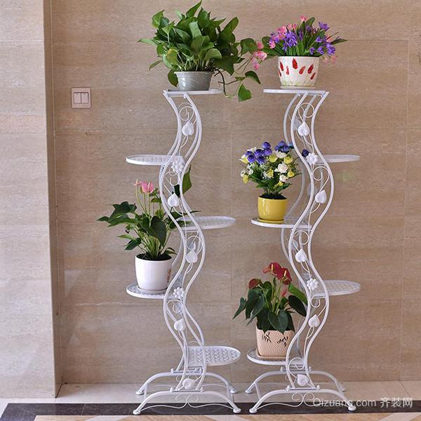 木制花架-欧式多层花架