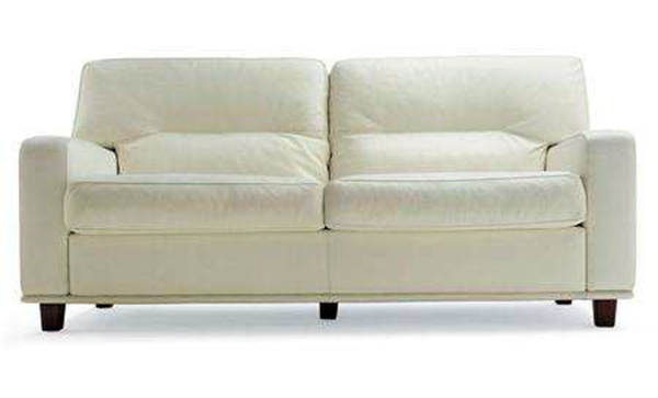 白色双人沙发