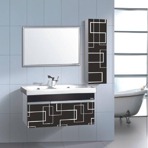 不锈钢浴室柜家居图