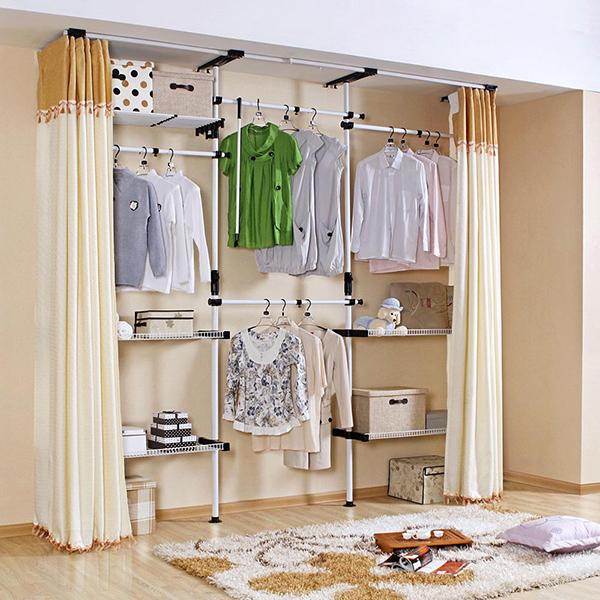 布衣柜的安装