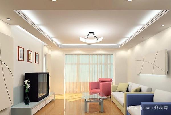客厅墙面漆颜色之白色