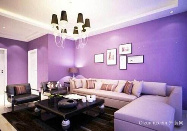 客厅墙面漆颜色之混色