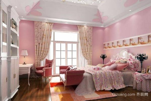 卧室空间忌讳使用太多粉色