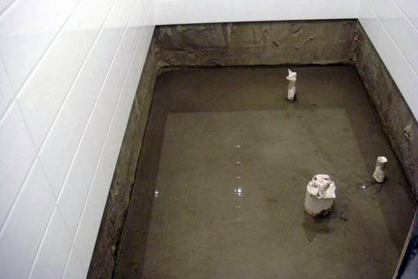卫生间防水墙凹槽