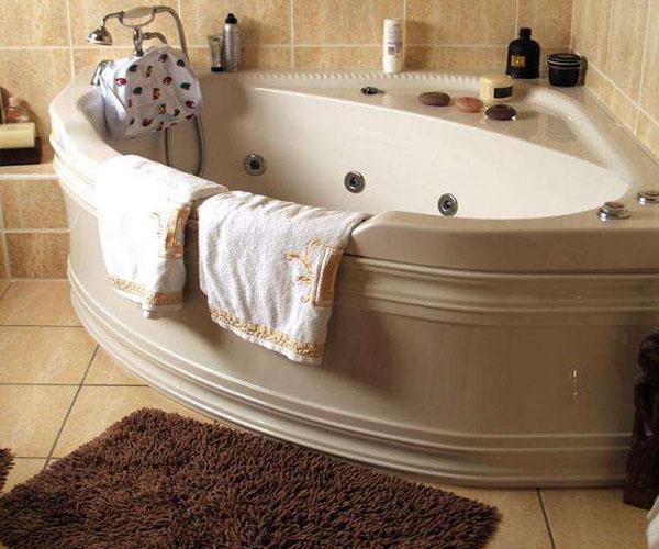浴缸放置形式