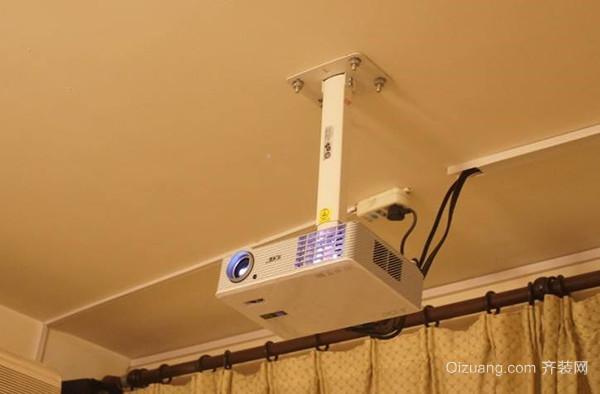 投影仪安装步骤67及升降吊架安装流程讲解-齐装网
