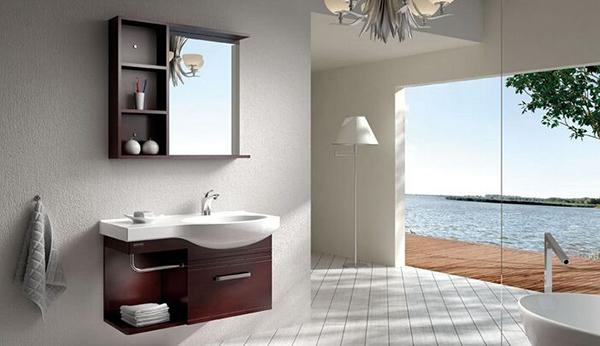浴室柜安装方法及其安装注意事项