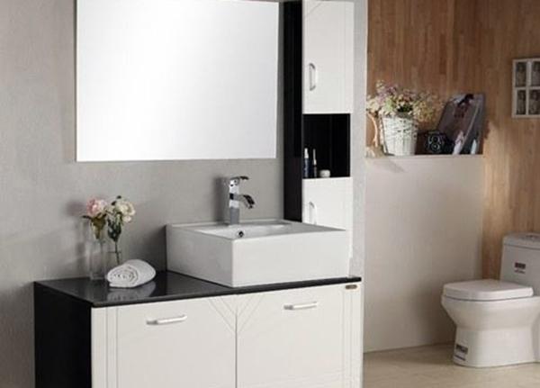 PVC卫浴柜安装方法