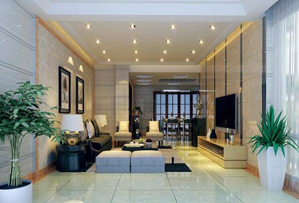 客厅射灯与客厅筒灯区别之处