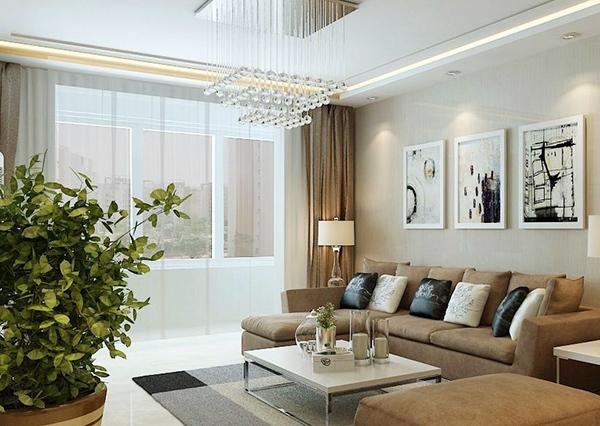 小编告诉你小户型客厅装修怎么显宽敞