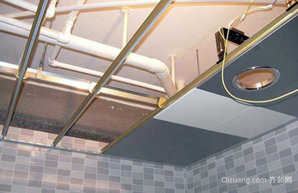 塑料扣板吊顶安装方法