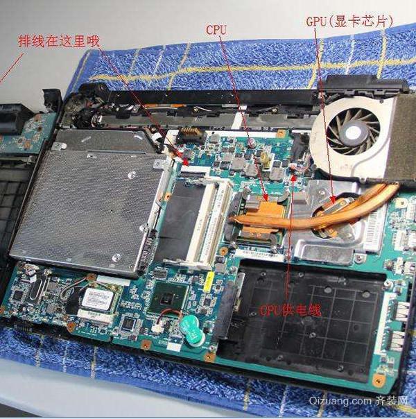 笔记本电脑除尘方法