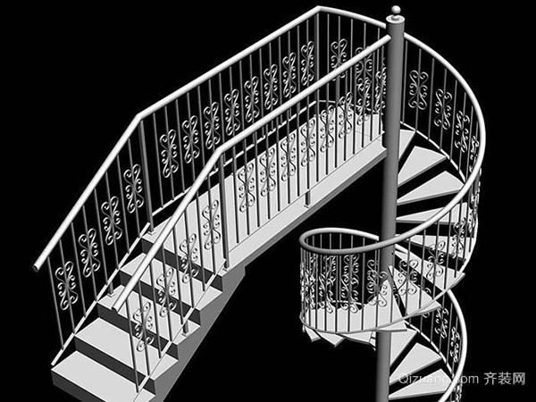 计算钢架楼梯尺寸
