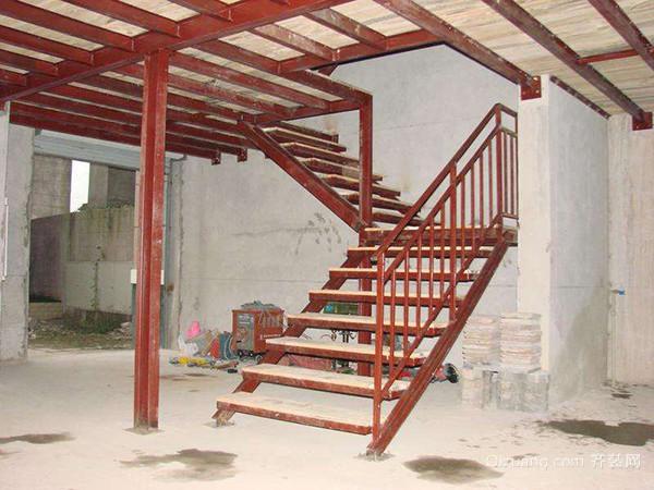 钢架旋转楼梯制作样式