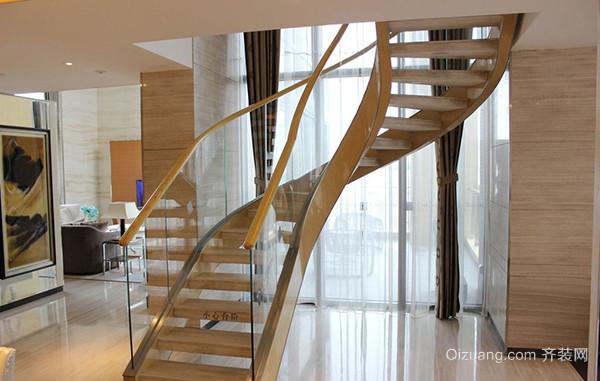 钢架玻璃楼梯制作样式