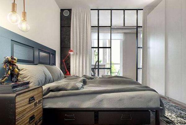 单身公寓卧室