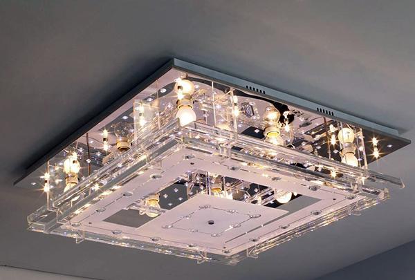 水晶灯清洗方法