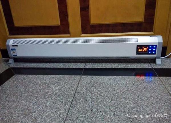 踢脚线电暖器优缺点