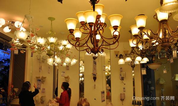 """美式乡村吊灯有哪些品牌 巧妙打造家中""""亮点""""图片"""