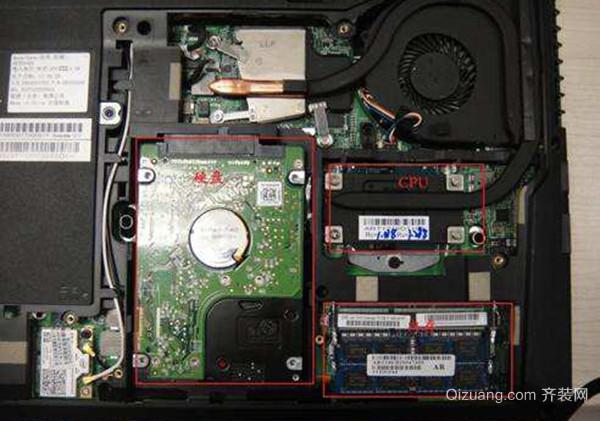 笔记本硬盘拆卸方法 第二步 拆笔记本底部后盖:笔记本换硬盘,困难最大的还是拆机拆后壳了,不过多数笔记本顶部后盖都比较好拆卸,基本就是使用十字螺丝刀,拆卸底部固定螺丝,然后打开底盖就可以看到内部硬盘了。另外,有一些笔记本拆卸后盖比较麻烦,像联想Z400、Z500笔记本拆卸后盖还需要拆卸键盘,困难相对较大。