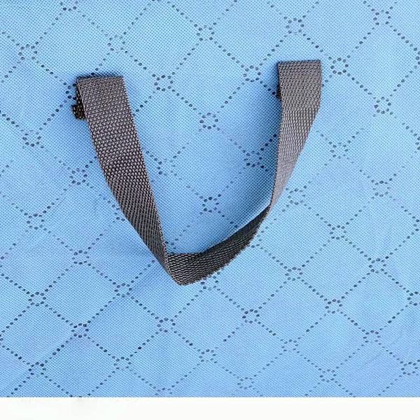 被子收纳袋的挂带制作