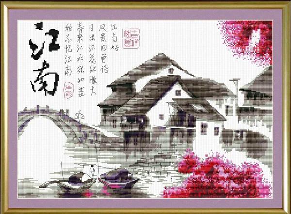 张飞十字绣网介绍