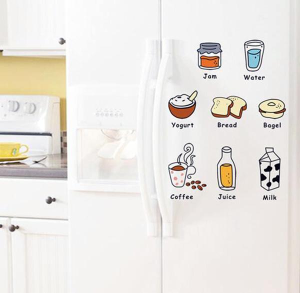 艾菲趣味冰箱贴纸