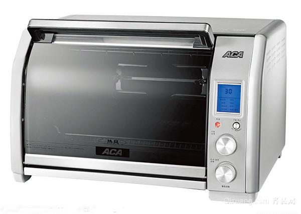 看电烤箱的操作