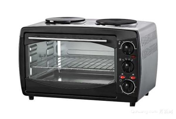 看电烤箱的温差控制