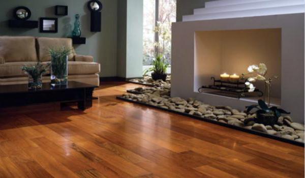 实木地板VS瓷砖 客厅地面你选哪个?